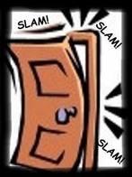 Door slam