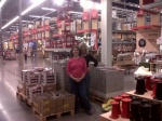 My best friend Lisa at Ikea